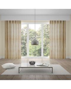 Cortina Duplex Valência 4,20x2,30m Quarto e Sala - Creme
