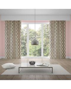 Cortina Living Art 2,80x1,80m Estampada Corttex - Lana