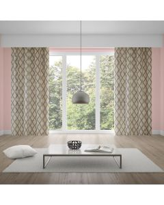 Cortina Living Art 2,80x2,30m Estampada Corttex - Lana