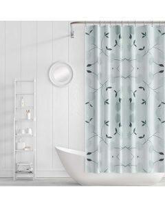 Cortina para Box de Banheiro 1,80x1,80m PanoSul - Cinza
