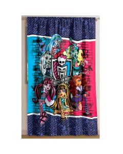Cortina Personagens infantil para Quarto 1,50x2,00m Lepper - MONSTER HIGH