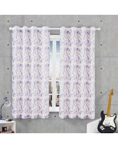 Cortina Pratika Infantil 2,60x1,70m Colore - Rock