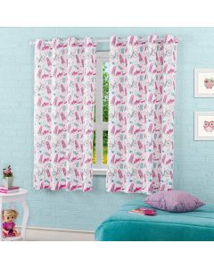 Cortina Pratika Infantil 2,60x1,70m Colore - Cute