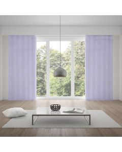 Cortina Pratika Lisa Slim 2,60x1,70m com Forro - Branco