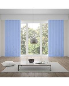 Cortina Pratika Lisa Slim 2,60x1,70m com Forro - Azul