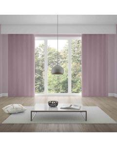 Cortina Pratika Lisa Slim 2,60x1,70m com Forro - Rose