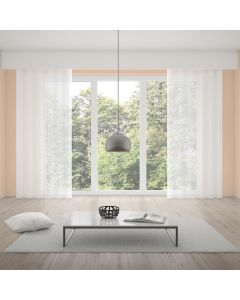 Cortina Voil 2,60x1,70m Lisa - Branco