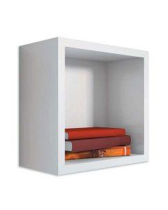 Cubo Organizador em Madeira  30x30x20 JPF 488 - BRANCO