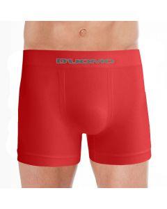 Cueca Boxer sem Costura Microfibra Duomo Vermelho