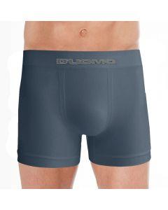 Cueca Boxer sem Costura Microfibra Duomo Azul