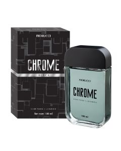Deo Colônia Chrome Black Fiorucci - 100ml
