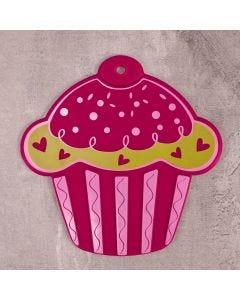 Descanso de Panela Cupcake Colorido Solecasa  - Silicone