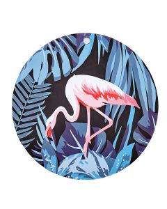 Descanso de Panela em Silicone - Flamingo