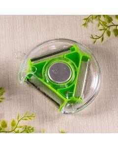 Descascador de Vegetais 3 Lâminas Solecasa - Verde