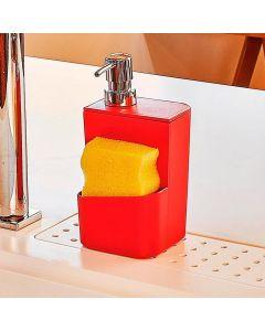 Dispenser de Detergente 650ml Trium Martiplast - Vermelho