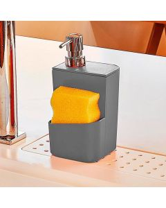 Dispenser de Detergente 650ml Trium Martiplast - Chumbo