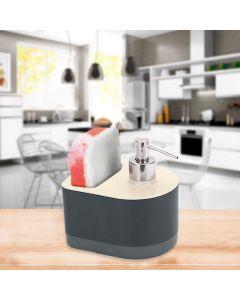 Dispenser para Detergente e Bucha By Arthi - Chumbo