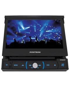 DVD Player 7'' Retratil com Bluetooth Positron - 1 DIN