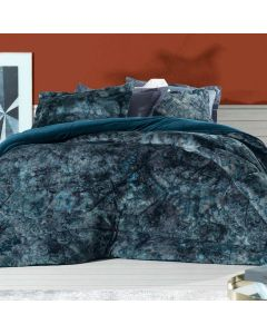 Edredom Casal Dupla Face 2,10x2,40m Blend Fashion Altenburg - Indigo Blue