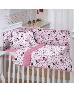 Edredom Infantil 100x140cm Malha Yoyo Baby - Rosa Forte