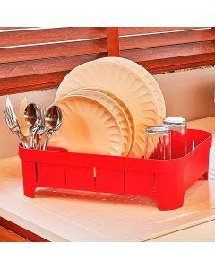 Escorredor de Louças Trium Martiplast - Vermelho