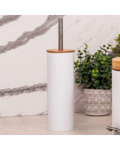 Escova Sanitária Bamboo Finecasa - Branco
