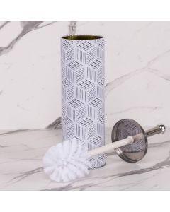 Escova Sanitária Geométrica Finecasa - Branco