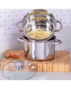 Espagueteira 4,1 Litros Noah - Inox