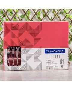 Faqueiro Laguna 91 peças Tramontina - Inox