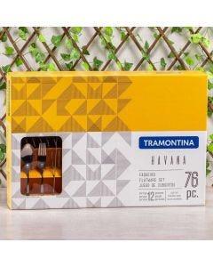 Faqueiro de Churrasco 76 Peças Havana Tramontina - Inox
