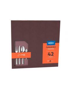Faqueiro Moderna 42 Peças Brinox - Inox