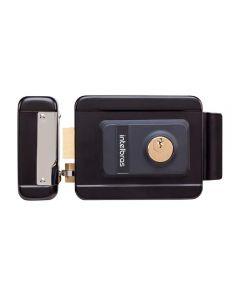 Fechadura Elétrica de Cilindro Fixo FX2000 Intelbras - Preto