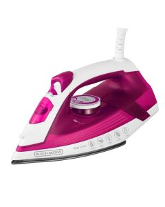 Ferro a Vapor Black And Decker AJ2200 Rosa