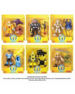 Figura Imaginext Básica Com Acessório Mattel - W3511