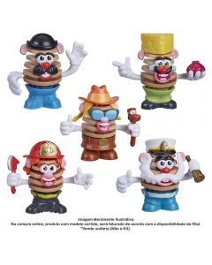 Figura Montável Mr Potato Head Chips Hasbro - E7341