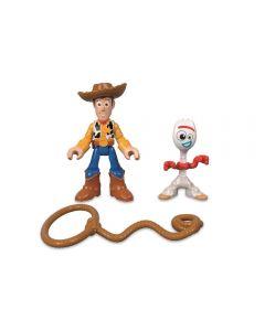 Figuras Básicas do Toy Story Mattel - GBG89 - Woody e Garfinho