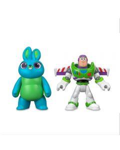 Figuras Básicas do Toy Story Mattel - GBG89 - Buzz e Coelhinho
