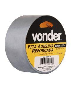 Fita Adesiva 10 Metros 50mm Prata Vonder - 1010050010