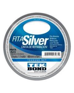 Fita Silver 48Mmx5m Tekbond - Prata