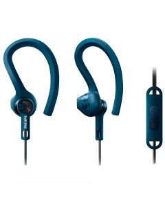 Fone de Ouvido Esportivo SHQ1405BL Philips - Azul