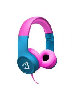 Fone de Ouvido Estéreo Infantil Melody ELG - Azul e Rosa