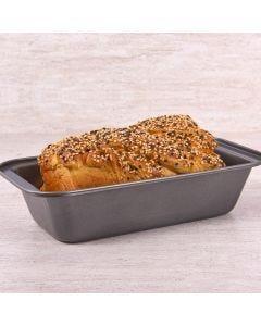 Forma de Pão Antiaderente Solecasa - Cinza