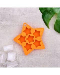 Forma de Silicone Estrela Solecasa - Laranja