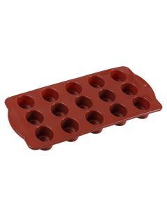 Forma de Silicone para Chocolate Solecasa - Marrom