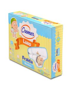 Fralda Luxo Estampada 5 peças Cremer - Menino