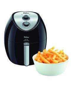 Fritadeira Air Fry 3,2L Saúde Inox sem Óleo Philco
