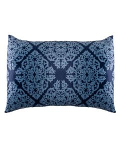 Fronha 50X70cm Plush Estampada Yaris - Ornamental Azul