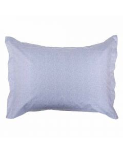 Fronha Avulsa 200 Fios Percal Buona Fortuna - Textura Azul