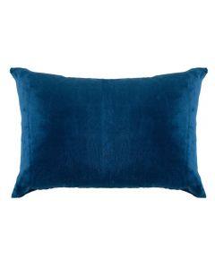 Fronha Avulsa 50Cm X 70Cm 100% Poliéster Plush Yaris - Azul Pacifico