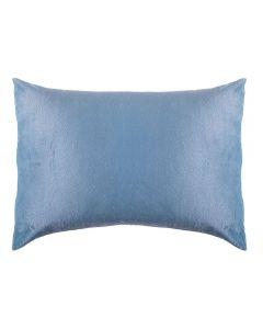 Fronha Avulsa 50Cm X 70Cm 100% Poliéster Plush Yaris - Azul Stone